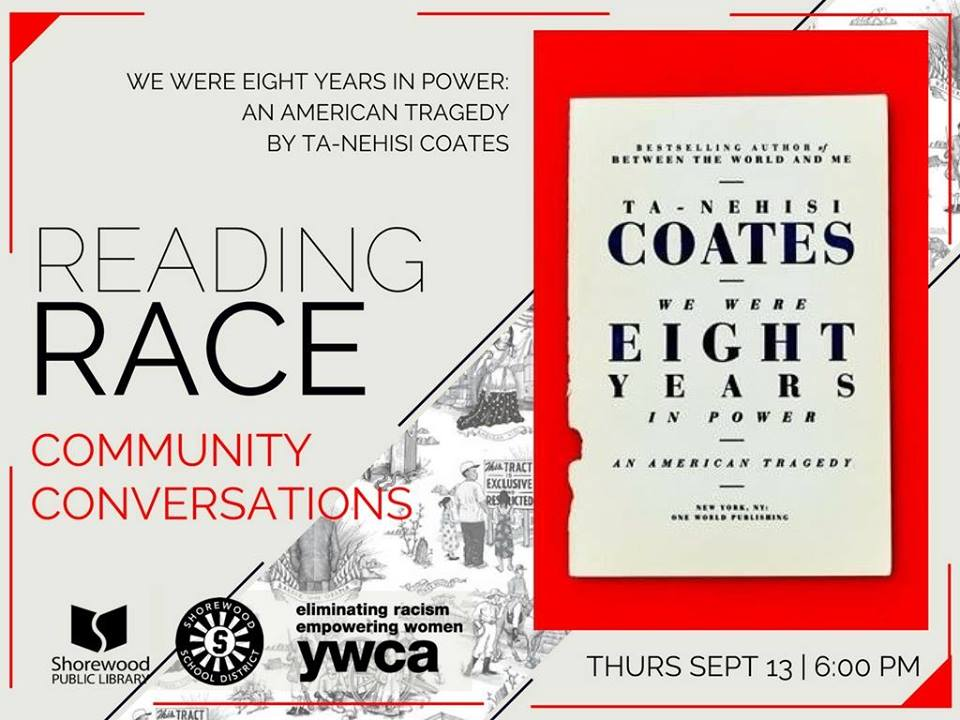 Reading Race Community Conversation @ Shorewood Public Library